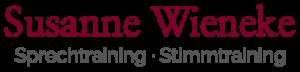 Logo Susanne Wieneke - Sprechtraining, Stimmtraining